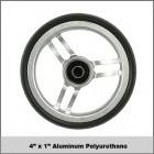 "4""x1"" Aluminum Polyurethane"