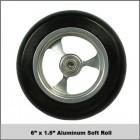 "6""x1.5"" Aluminum Soft Roll"
