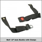 """Belt 1.5"""" Auto Buckle w/ Clamps"""