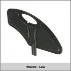 "Plastic - Low (6.5"" High)"
