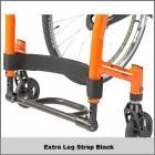 Extra Leg Strap Black