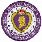 Combat Wounded Purple Heart Patch