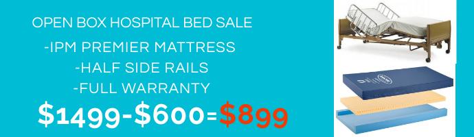Hospital Bed Sale Promo